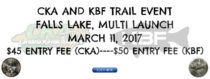 CKA Event #2/KBF Trail Event Info