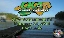 CKA Tournament 1: Lake Hyco