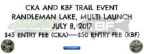 CKA Tournament #6 & KBF Trail: Lake Randleman