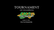 2018 CKA Tournament of Champions