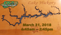 CKA Tournament 2: Lake Hickory (March 31st)