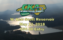 CKA Tournament 4: Kerr Scott Lake