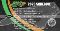 The 2020 CKA Tournament Schedule