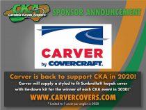 Carver Covers returns as a CKA 2020 Sponsor
