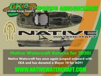 Carolina Kayak Anglers Welcomes Native Watercraft Back for the 2020 Season