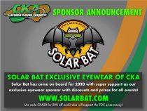 Solar Bat Eyewear Discount for CKA anglers